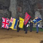 Lighting of the Beacon at Carisbrooke Castle
