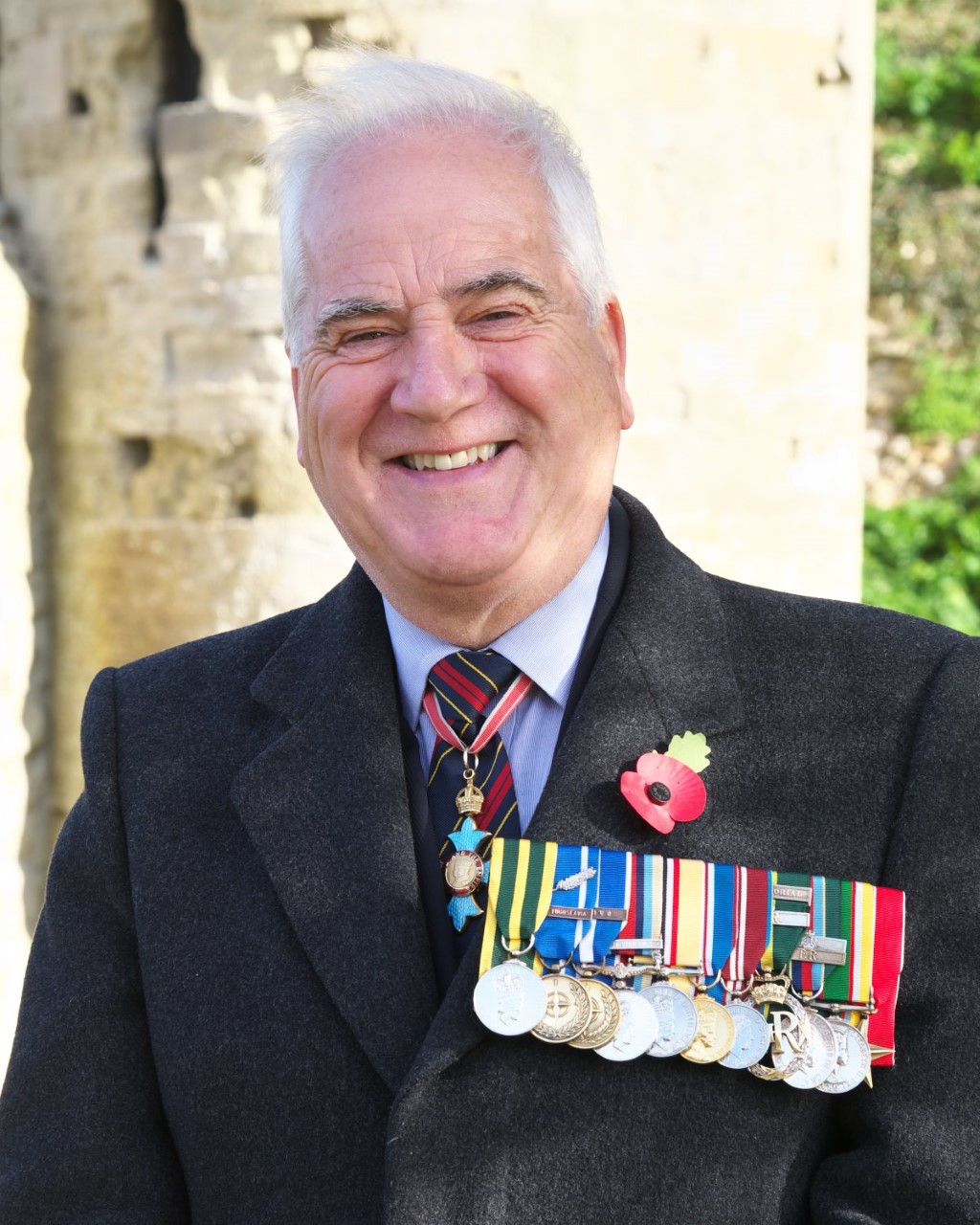 Brigadier Maurice Sheen CBE QVRM TD DL