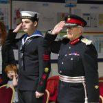Lord-Lieutenant visits Cowes Sea Cadets