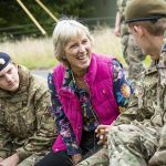 Lord-Lieutenant visits annual Cadet Camp in Okehampton